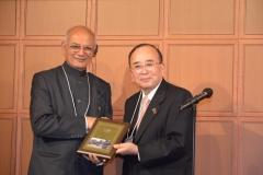 Plaque for Ishikawa Centenary contribution