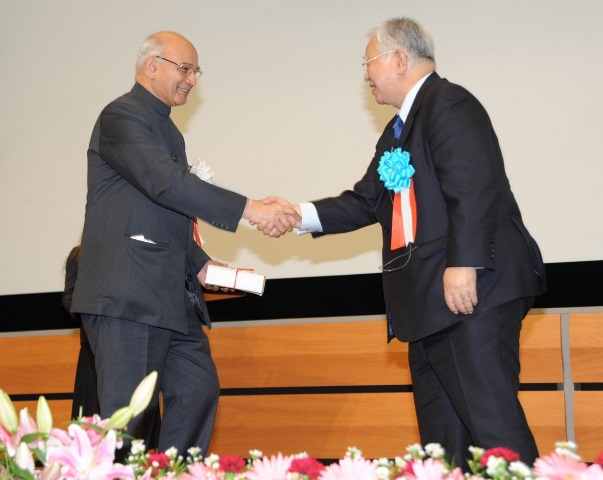 2012 Deming Prize in Tokyo 2nd recipient from outside Japan